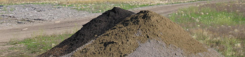 Pulp and paper mill residuals, biosolids, ash, wood waste and waste sand are used to fabricate soil for use in landfill closure.